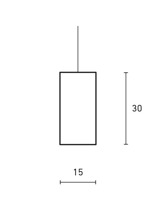 Vertical Minimal Lamp